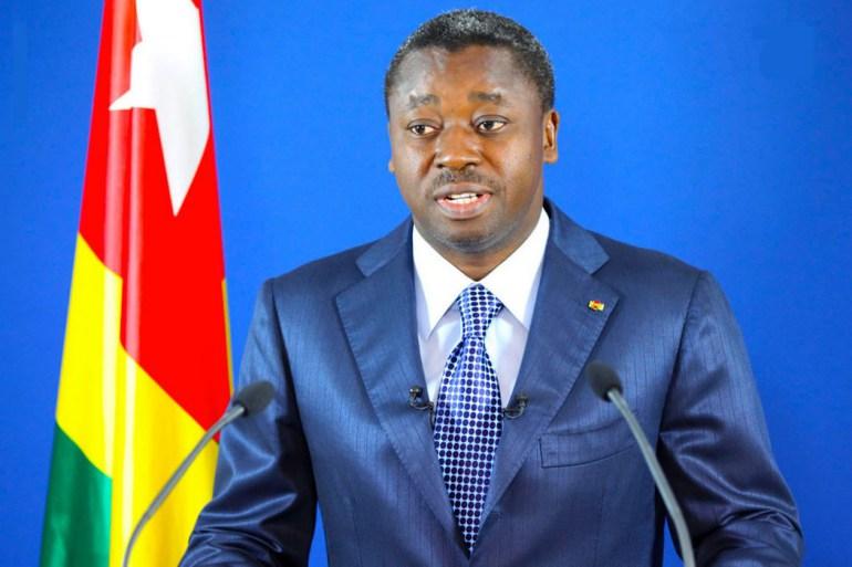 الرئيس التوغولي فور نياسينغبي.