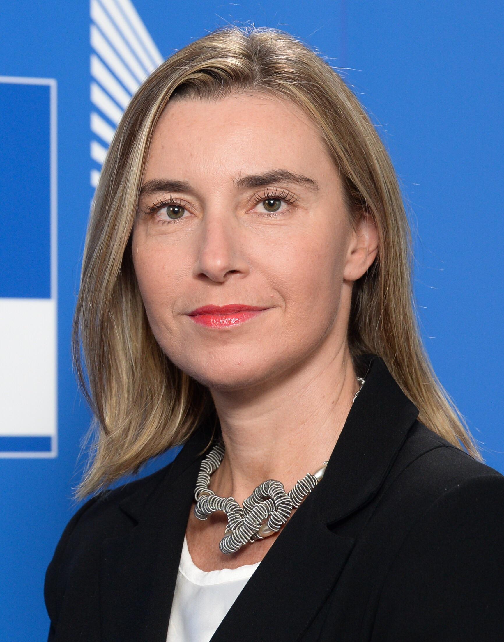 فيديريكا موغريني: مسؤولة الشؤون الخارجية بالاتحاد الأوروبي