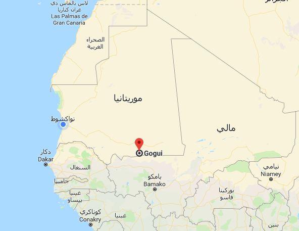 تقع كوكي على الحدود مع جمهورية مالي الجار الشرقي لموريتانيا