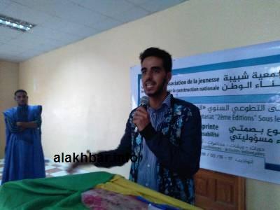 رئيس الفرع حبيب الحاج (تصوير الأخبار)