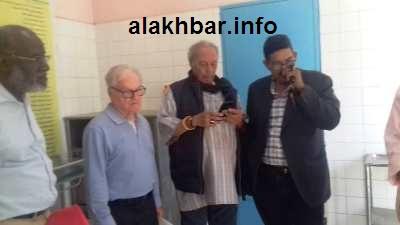 جانب من حضور الأطباء الكناريين في مركز الرضوان الصحي/ الأخبار