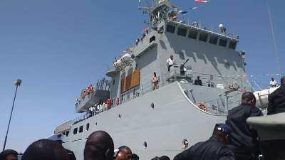 سفينة النميلان التي دشنها الرئيس/ الأخبار