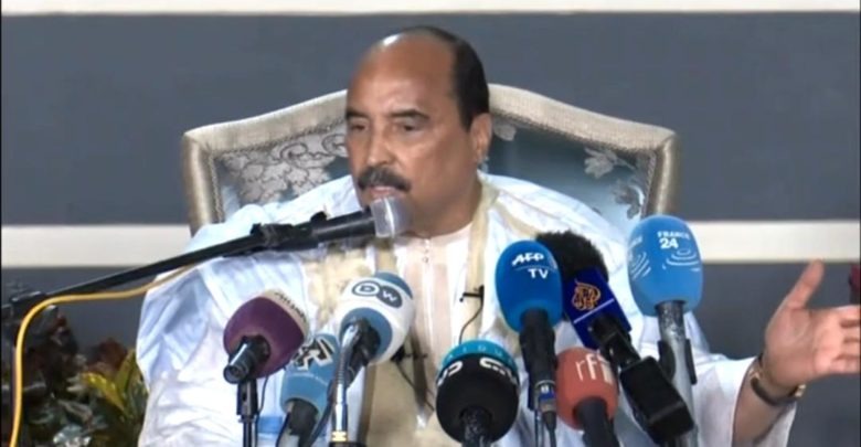 محمد ولد عبد العزيز: الرئيس الموريتاني السابق