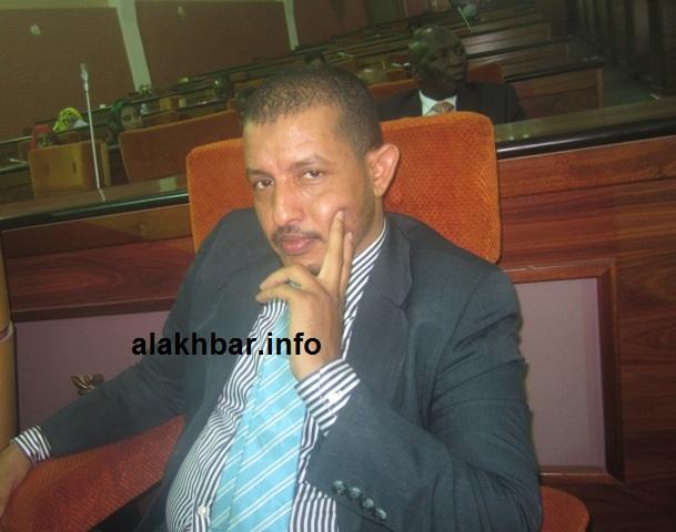 """النائب البرلماني عن حزب التجمع الوطني للإصلاح والتنمية """"تواصل"""" محمد يسلم ولد عبد الله"""