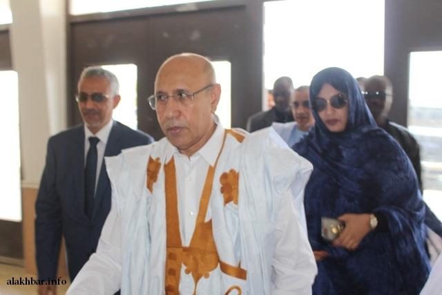 المرشح ولد الغزاوني أعلنت لجنة الانتخابات فوزه في الشوط الأول بنسبة 52.01%