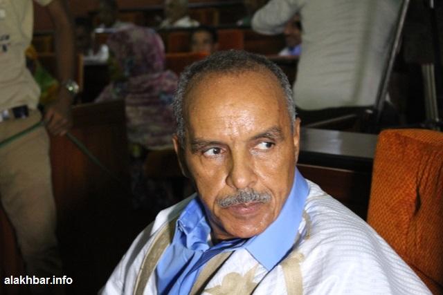 مرشح الأغلبية لرئاسة البرلمان الشيخ ولد باي وصل قاعة الجلسات بالجمعية الوطنية دقيقة واحدة قبل افتتاح الجلسة (الأخبار)