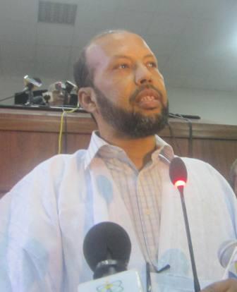 محمد غلام الحاج الشيخ - نائب برلماني