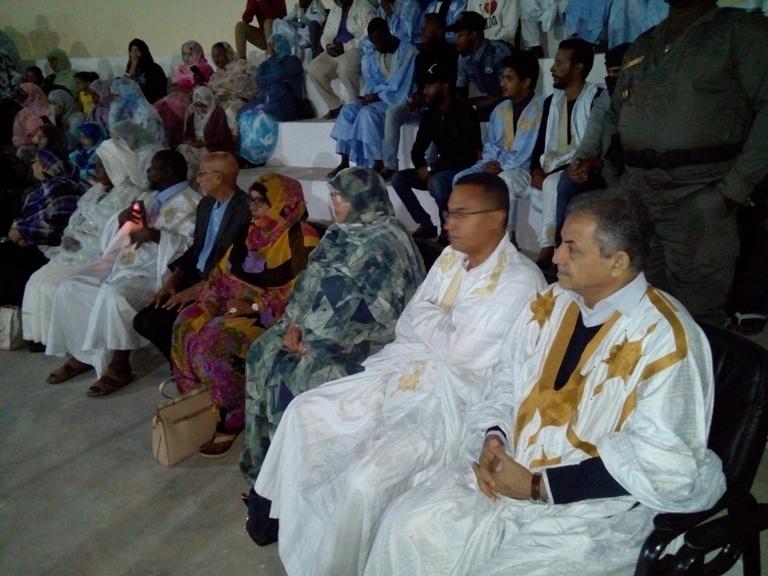 جانب من حفل انطلاق فعاليات الأيام الثقافية لبلدية نواذيبو
