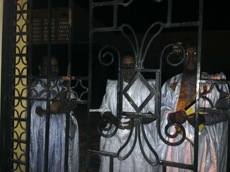 سبق للأمن أن منع بعض الشيوخ من دخول مقر هيئتهم يوم 18 مايو الماضي (الأخبار - أرشيف)