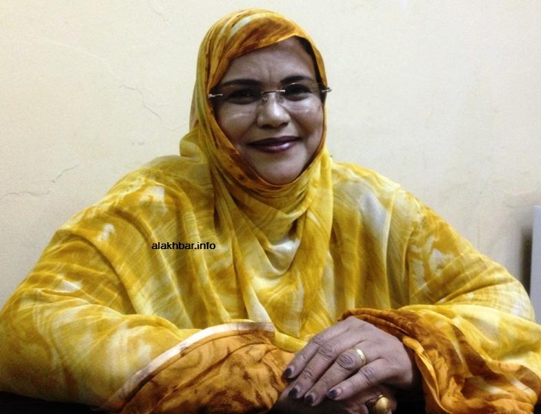 وزيرة الشؤون الاجتماعية والطفولة والأسرة ميمونة بنت التقي خلال مقابلة مع الأخبار قبل أيام