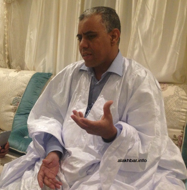 النائب البرلماني والقيادي في الحزب الحاكم محمد ولد ببانا (الأخبار - أرشيف)