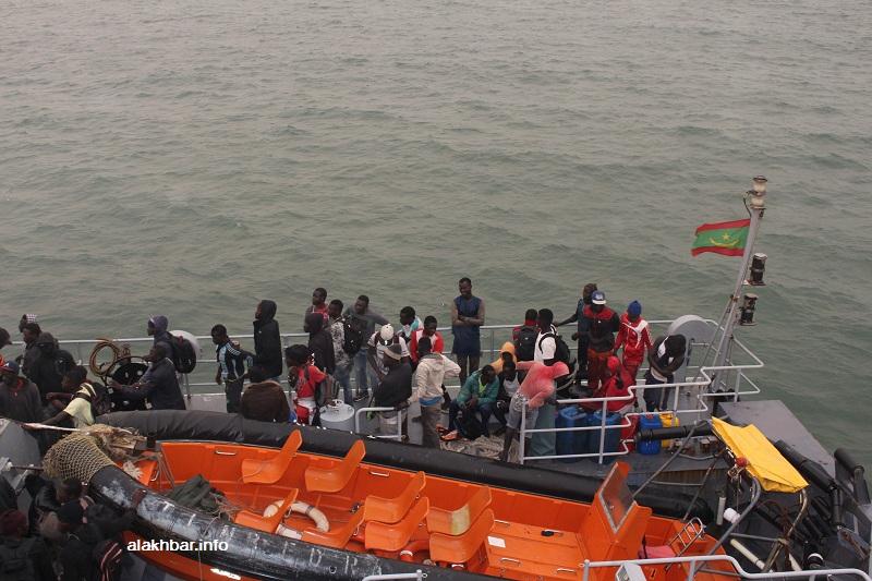 المجاهرون السريون على متن الفرقاطة الموريتانية تمبدغة (الأخبار)