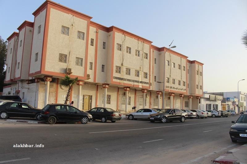المقر المركزي للجنة المستقلة للانتخابات في العاصمة نواكشوط (الأخبار)