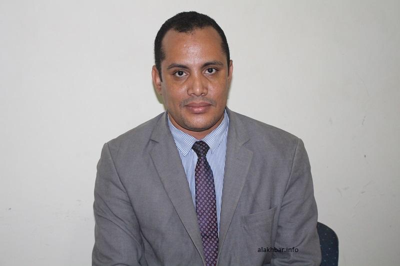 المستشار المكلف بالاتصال في وزارة التعليم الثانوي والتكوين التقني والمهني سعد بوه الشيخ محمد