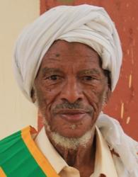شيخ مقاطعة بابابى ينج ولد أحمد شلل توفي البارحة ودفن في مدينة نواذيبو