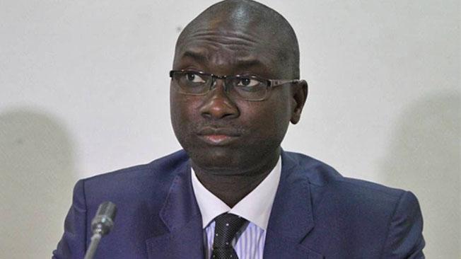 إسماعيل ماديور افال وزير العدل السنغالي.