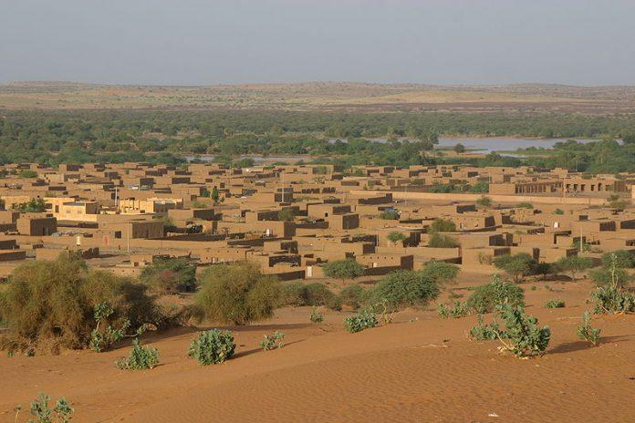 مدينة ميناكا شمال مالي.