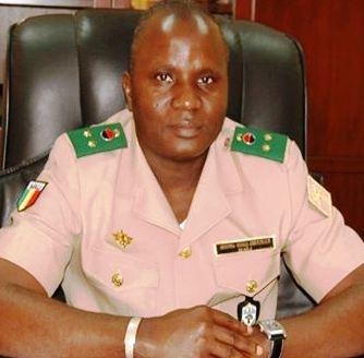 الجنرال موسى سينكو كواليبالي المترشح للرئاسة في مالي.