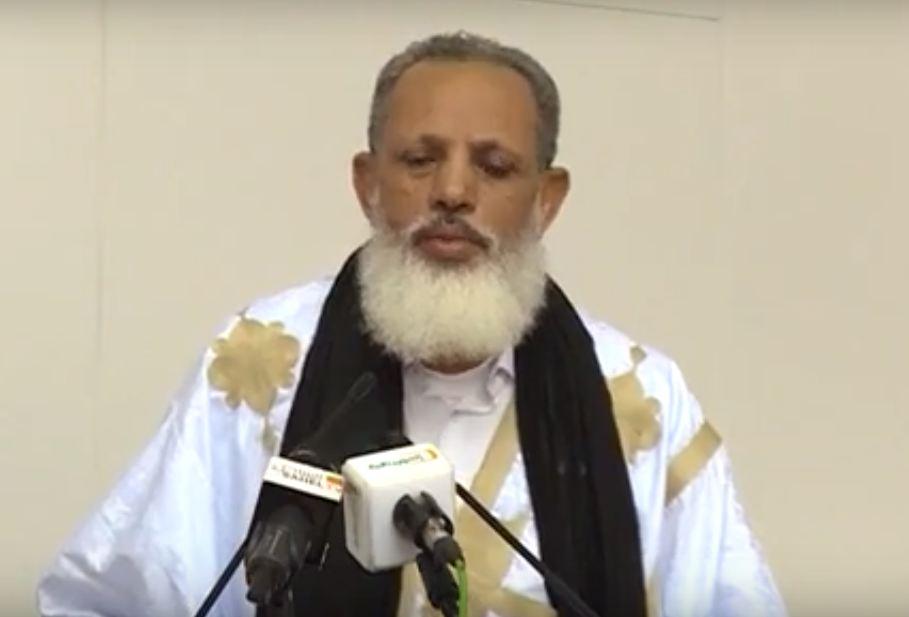 رئيس ائتلاف الأغلبية ورئيس حزب الفضيلة عثمان الشيخ أحمد أبي المعالي