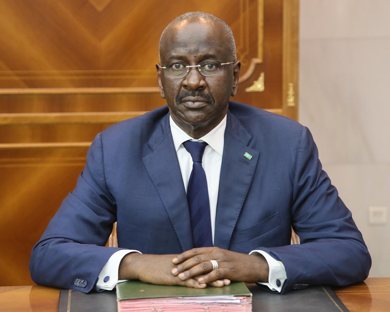 وزير الداخلية الموريتاني الدكتور محمد سالم ولد مرزوك (وما)