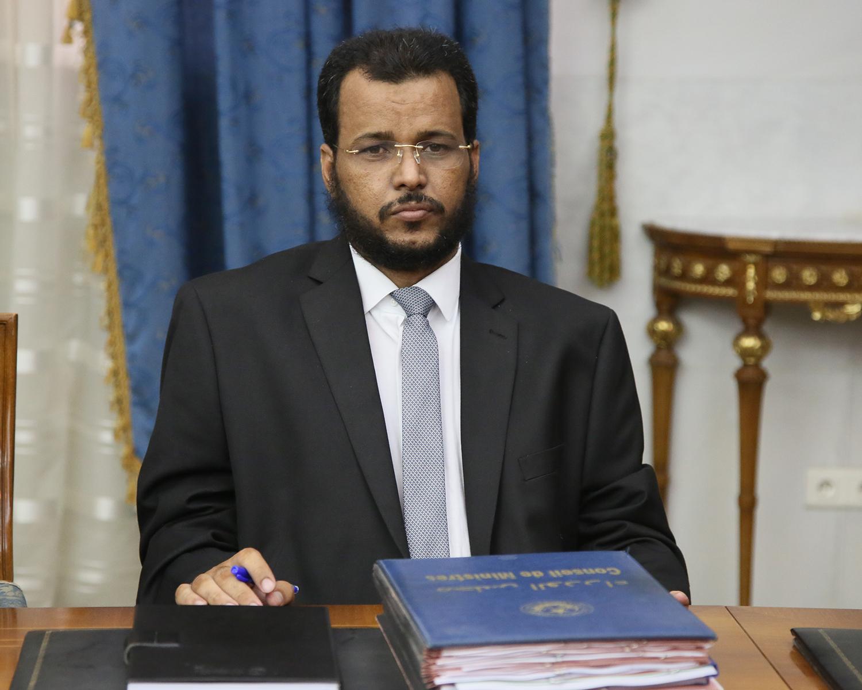 وزير الشؤون الإسلامية والتعليم الأصلي الداه ولد سيد ولد أعمر طالب (وما)