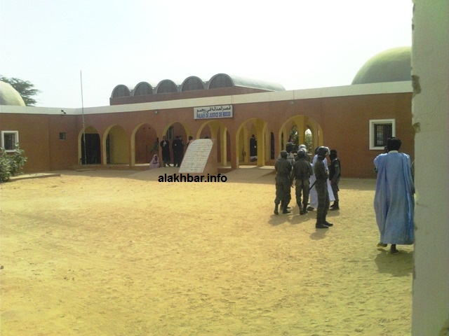 مقر محكمة روصو عاصمة ولاية الترارزة جنوبي موريتانيا (الأخبار - أرشيف)