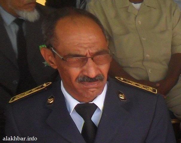 المدير الجهوي للأمن في ولاية نواكشوط الجنوبية المفوض الرئيسي محمد أحمد ولد إسماعيل ـ (أرشيف الأخبار)