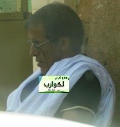 """المدير التجاري السابق لشركة """"سونمكس"""" محمد ولد اسبيعي خلال انتظاره المثول أمام المحققين في روصو (لكوارب)"""