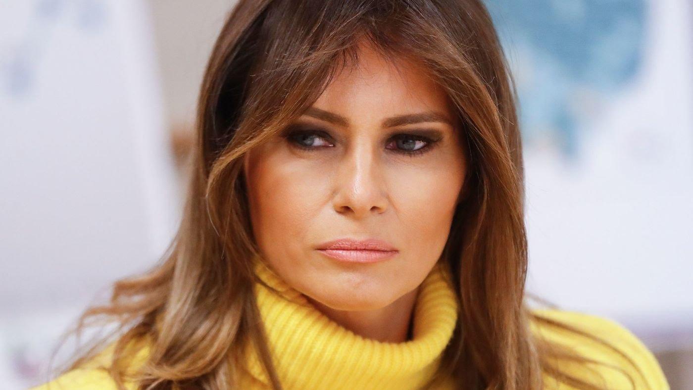 ميلانيا ترمب السيدة الأولى بالبيت الأبيض.