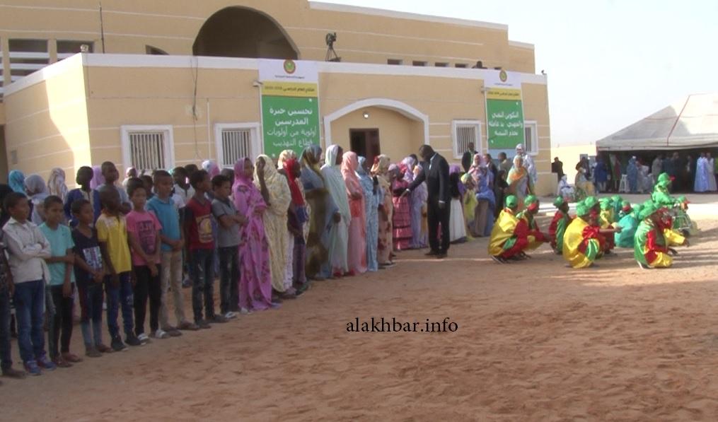 من حفل افتتاح العام الدراسي الجديد 2019/2019 في نواكشوط بحضور الرئيس محمد ولد الغزواني ـ (الأخبار)