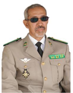 الجنرال حننا ولد سيدي القائد المساعد للأركان العامة للجيوش.