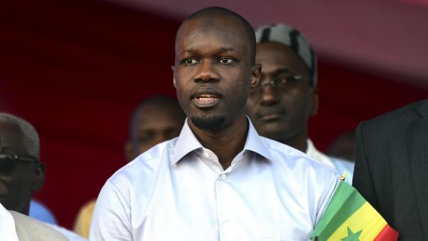 عثمان سونكو: مترشح للانتخابات الرئاسية السنغالية.