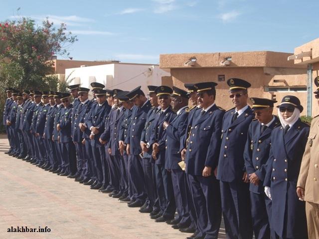 مفوضو شرطة خلال الاحتفال بعيد الشرطة العربية ديسمبر 2017 (الأخبار)