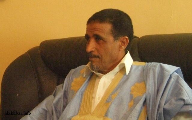الرئيس الدوري لمنتدى المعارضة ورئيس حزب اتحاد قوى التقدم محمد ولد مولود