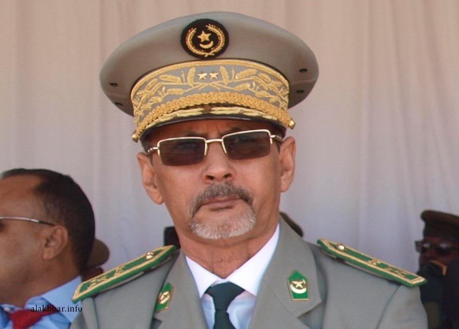 القائد العام لأركان الجيوش محمد الشيخ ولد محمد الأمين ـ (أرشيف الأخبار)