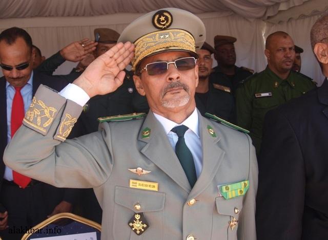 قائد الأركان العامة المساعد للجيوش الموريتانية الفريق محمد الشيخ محمد الأمين الملقب ابرور (الأخبار - أرشيف)