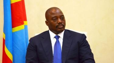 جوزيف كابيلا رئيس جمهورية الكونغو الديمقراطية.