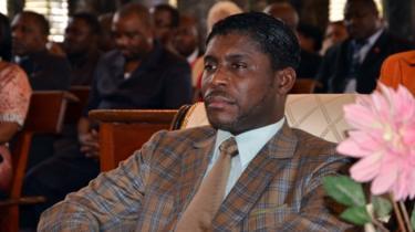 تيودورينغ أوبيانغ نائب رئيس غينيا الاستوائية.