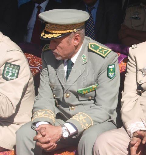 الجنرال المختار ولد بل، قائد التجمع العام لأمن الطرق ـ الأخبار