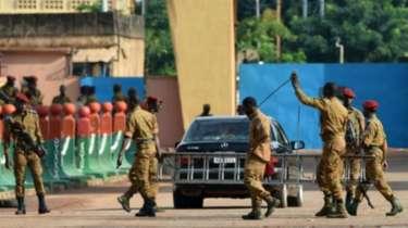 جنود من جيش بوركينافاسو.