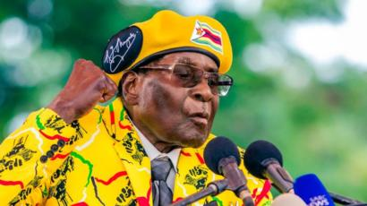 روبير موغابي: الرئيس السابق لزيمبابوي