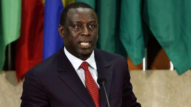 الشيخ تيجان غاديو وزير الخارجية السنغالي الأسبق.
