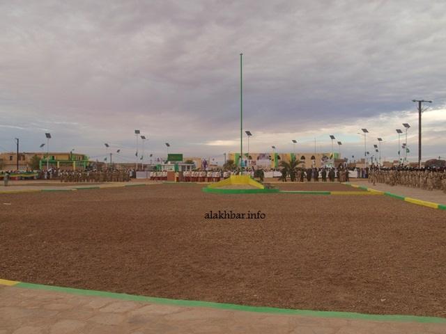 ساحة الاستقلال في قلب مدينة أطار عاصمة ولاية آدرار شمالي موريتانيا (الأخبار - أرشيف)