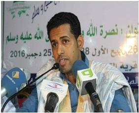 الشاعر والدكتور خالد ولد عبد الودود