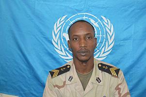 """الرقيب أول البحري الهاشم ماء العينين قتل اليوم في هجوم لمليشيا """"أنتي بلاكا"""" في وسط إفريقيا"""