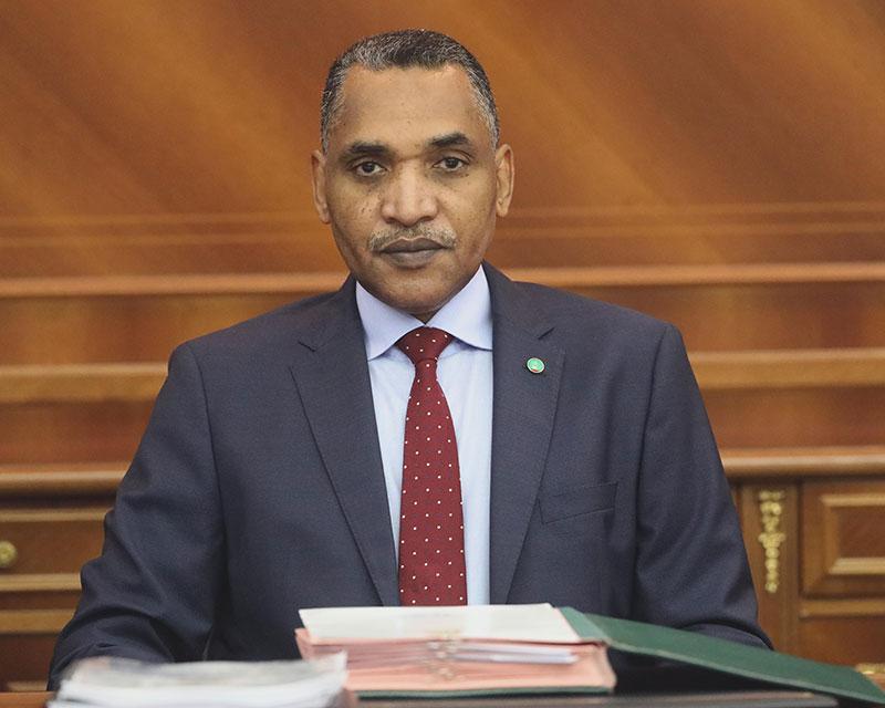 الوزير الأمين العام للرئاسة محمد سالم ولد البشير