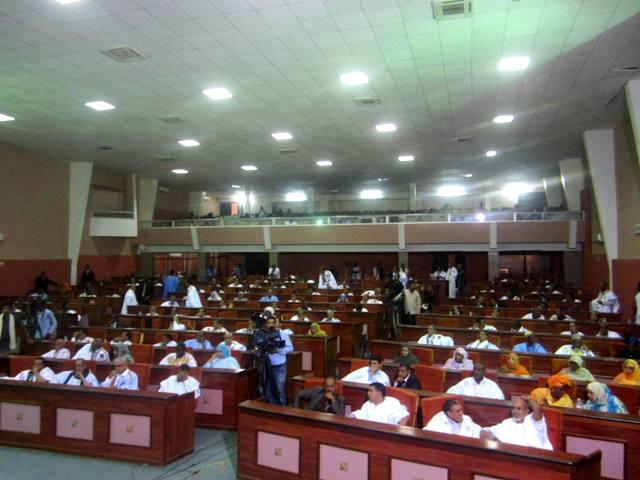 البرلمان الموريتاني خلال جلسة سابقة له