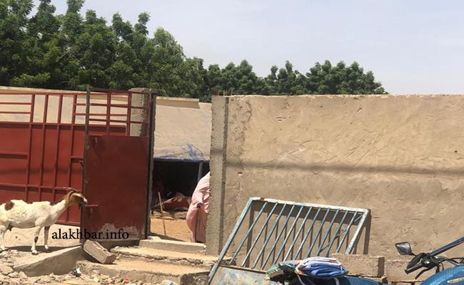 مدخل مستشفى مدينة كوبني جنوب ولاية الحوض الغربي ـ (الأخبار)