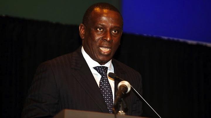 الشيخ تيجان غاديو وزير الشؤون الخارجية السنغالي الأسبق.