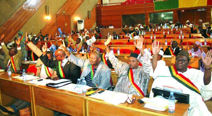 البرلمان المالي يصادق على مشروع تعديل الدستور.